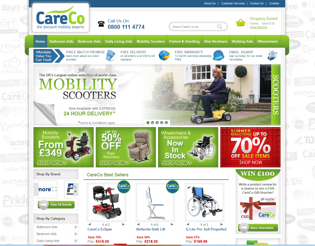 Clients New eCommerce Site