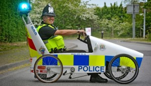 Essex Police High Priority Vehicle